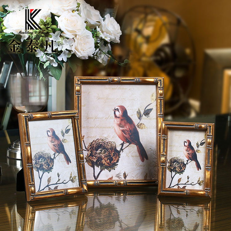 New Products 2018 China Picture Photo Frame Wooden For Home Decoration