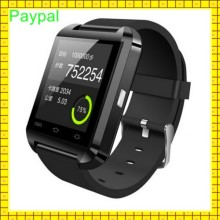 paypal accept cheap Step motion meter Calculator u3 u8 u9 smart watch use blue tooth