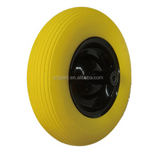 wheel barrow Polyurethane(PU) tires 4.00-8