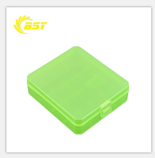 li ion battery plastic case 2pcs li ion rechargeable 18650 battery case 4pcs battery case