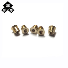 CNC Brass Hot Forging Machining Parts Lathe Turned Spare Part