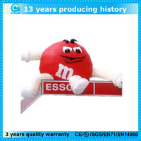 giant inflatable m&m character