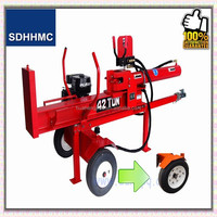 Factory Price Direct Cheap 42 Ton 1050mm Log Splitter And Cutter,CE Certified