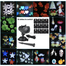 Wholesale Mini Decoration Light Outdoor Waterproof Snowflake Slides Detachable Laser Projector Christmas Light