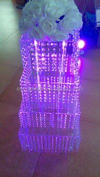 Tiered Crystal Wedding Cake Stand, Cupcake Stand In Display Racks