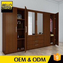 China Online Shopping L Shaped Bedroom Mdf Wardrobe Designs