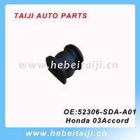 Auto Rubber Stabilizer Bushing parts 52306-SDA-A01 for Honda