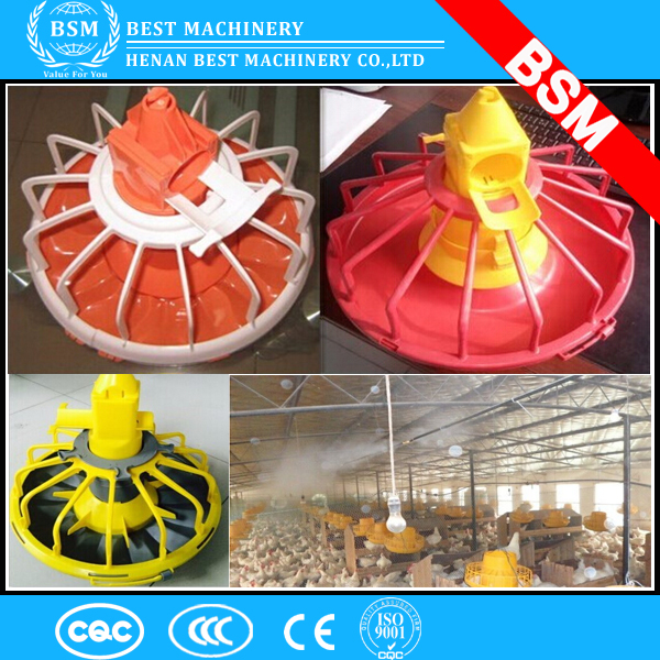 Broiler chicken feeding system / Poultry feed line system / plastic chicken trough of feeding system