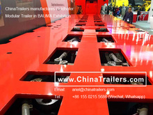 Heavylift Transport Manufactures Hot Sale Multi Axis Heavy Haulage Modular Trailer Goldhofer Type 100% Compatible with Original
