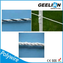 Cheap electric fence,high tensile electric fence poly wire