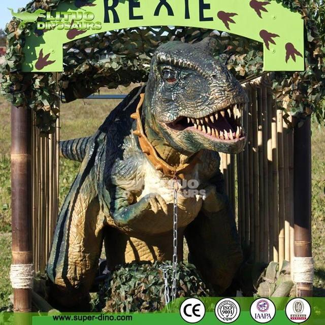 Artificial Life Size Animatronic Realistic Dinosaur Costume For Sale
