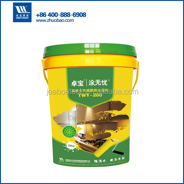 High Elastic waterproof roof paint/ building materials waterstop acrylic coatings