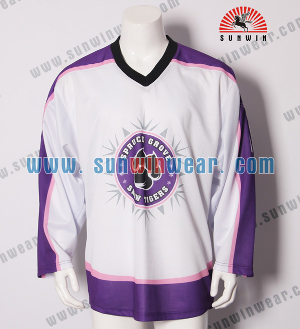 Trade assurance polyester XXL hockey jersey team for USA