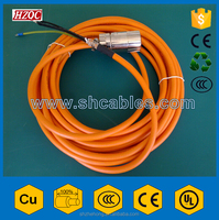 PVC/PUR Sheathed Flexible Control Cable Braided Screen Cable