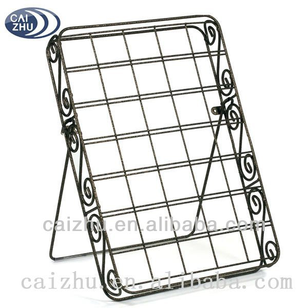Hammered Bronze Wire K Cup Rack 35 Capacity