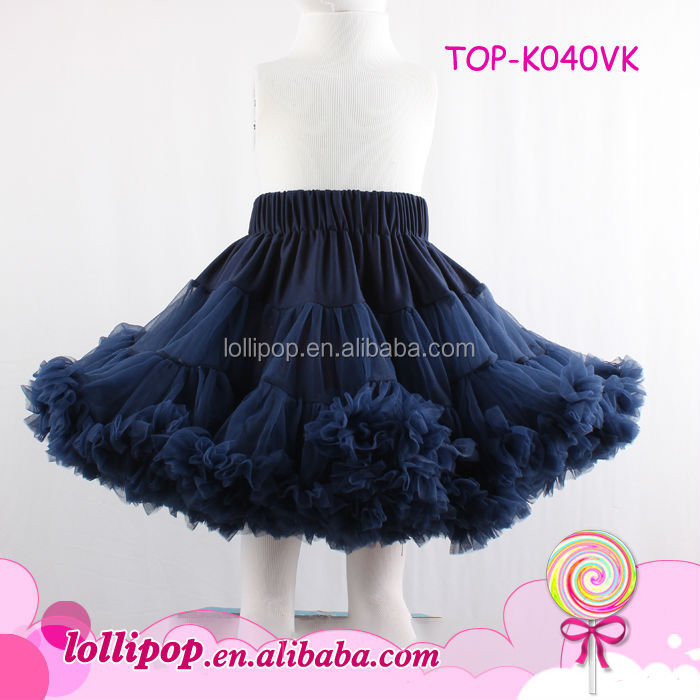 Fashion navy adult pettiskirt plus size long skirts and tops classical puffy pettiskirt