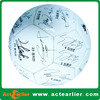 cheap custom logo print 100% tpu synthetic leather signature soccer ball for gift