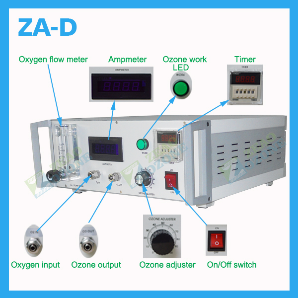 2G-6G Medical ozone generator therapy equipment for clinic or lab use