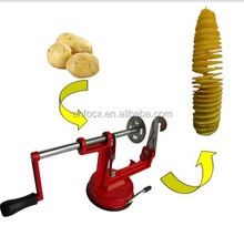 High quality potato spiral slicer/spiral potato slicer/manual potato twister