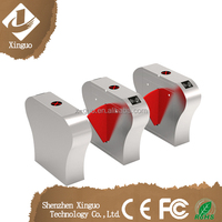 electronic security rfid card flap gate barrier, used in subway gate barrier