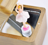 Wholesale Wooden Ballerina Music Box With