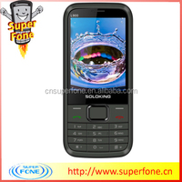 "Cheap mobile phones China L900 2.8"" Screen Quad band Slim phone with JAVA/Facebook WhatsAPP with Holster"