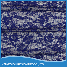 2015 New Fashion Customized Best Selling Purple Color Net Lace Curtain
