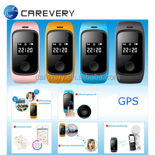Child gps tracking location smart watch wrist band gps tracking device for kids