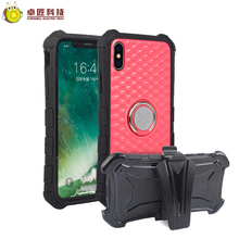 Kiwishell Hot selling full protective sporty armband belt clip case for iphone x