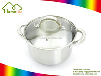 High quality stainless steel non-stick cookware pot cooking set Customization Kitchen Stainless Steel Pot Pan Set