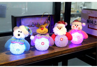 Christmas products Holiday party chandeliers electronic luminous Christmas snowman New Year gifts toys