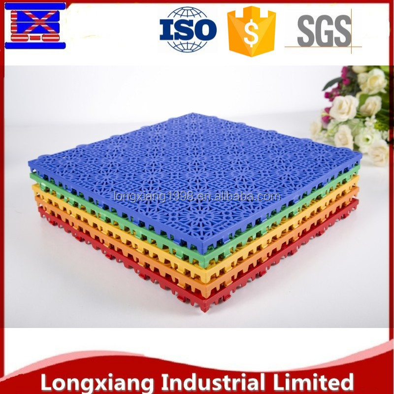 wholesale 100% new pp plastic waterproof interlocking mat tiles garage floor