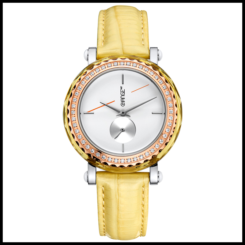 shenzhen fashion japan movt diamond quartz watch for women and ladies