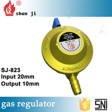 Various style complete in specifications high level factory on sale zinc alloy n2 pressure regulator