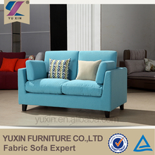 modern foshan furniture fabric sofa set