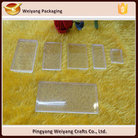 Collectibles coins stampls holder acrylic flat box clear plastic case display slabs