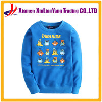 Cartoon Space Scene - Kids / Childrens Hoodie - Planet - Rockets - 7 Colours