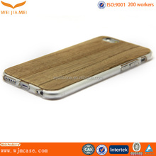 plastic fancy wooden cover for iphone 6 accessories case