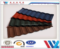 High quality color roof tile/colorful stone coated steel roofing tile /kerala house roofing tile from Chinese exporter