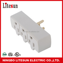 litesun LA 9 UL CUL listed 3 outlets Wall tap current tap