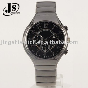 High quality ceramic man watch with multifunction JC246-2