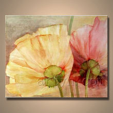 Newest Handmade Wall Art Flower Acrylic Painting For Decor
