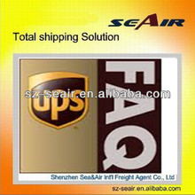 The ups alibaba express of international trade to Mexico