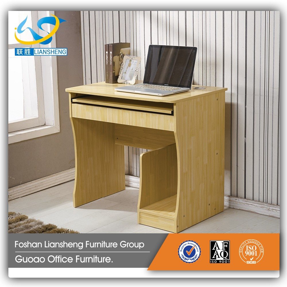 Cheap Low Price Wooden Small Size Simple Design Home Computer Desk GCD 809