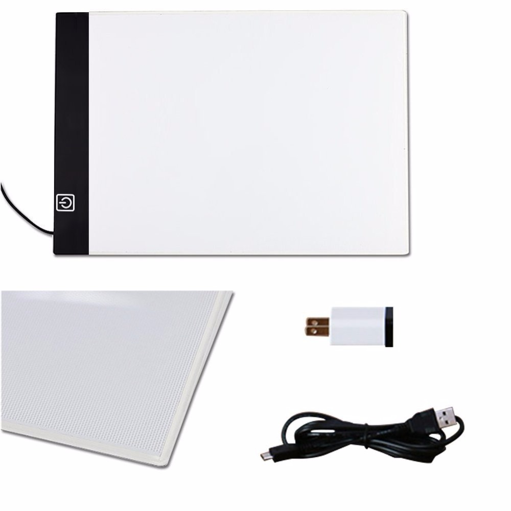 2017Elice LED Drawing Copy Board Tracing Light Box in Japanese animation