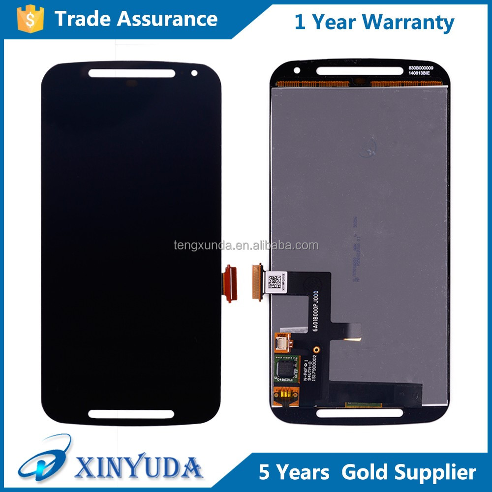Wholesale Price For Motorola Moto G2 XT1062 <strong>Lcd</strong> Digitizer, <strong>LCD</strong> For Moto G2 Display