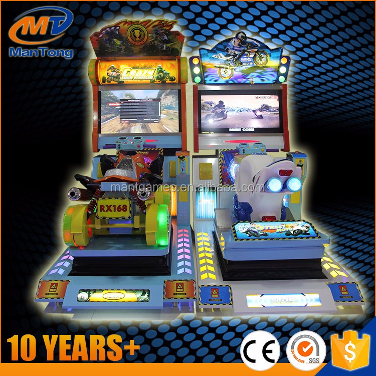 coin operated games simulator arcade racing car video games machine for kids adult