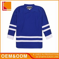 Wholesale Stripe Ice Hockey Long T