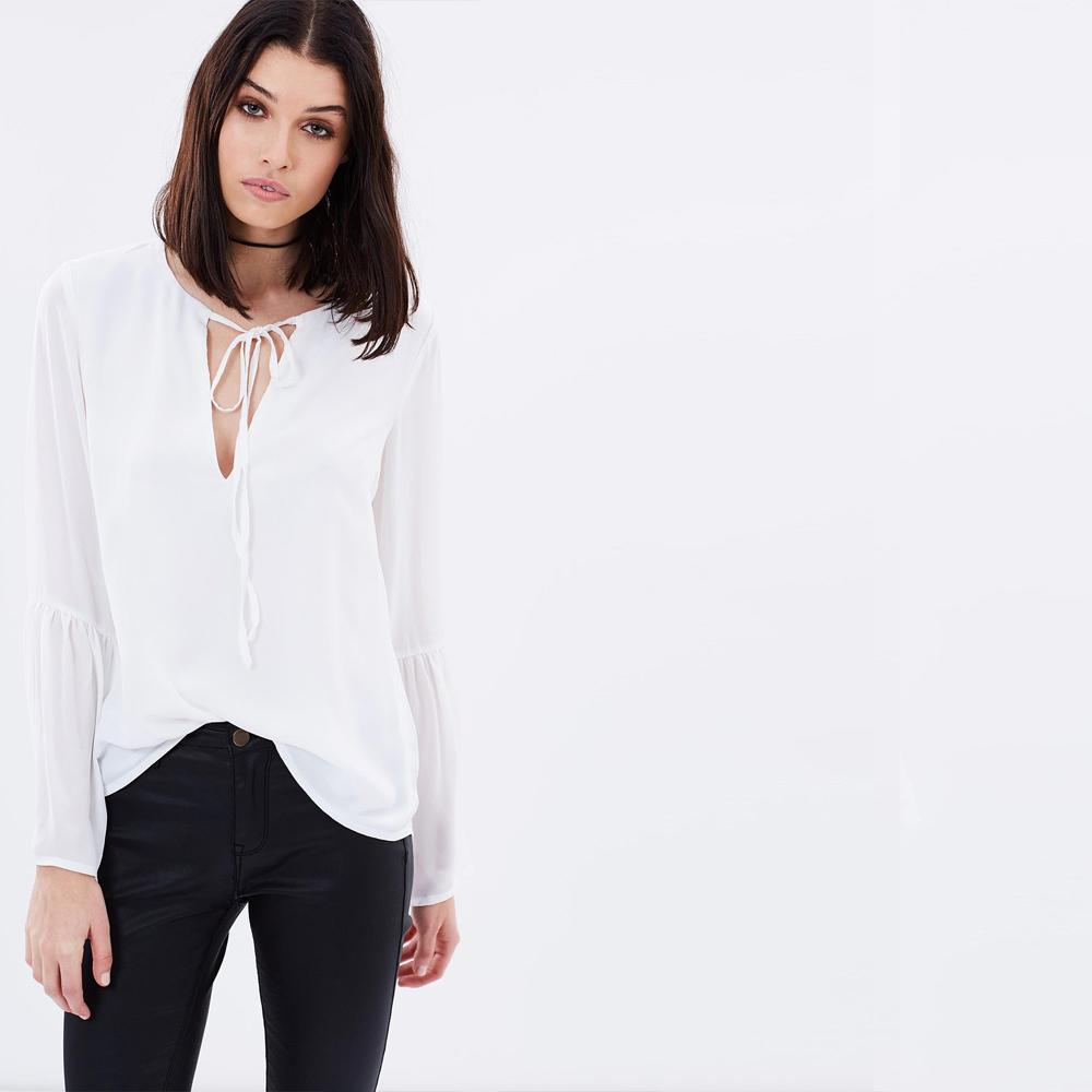 Длинные Белые Блузки
