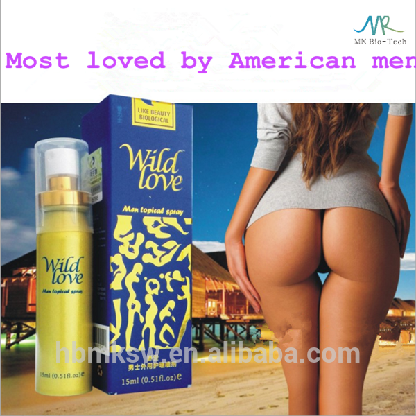 Wild love male helath product hot male enhancement spray sex delay spray